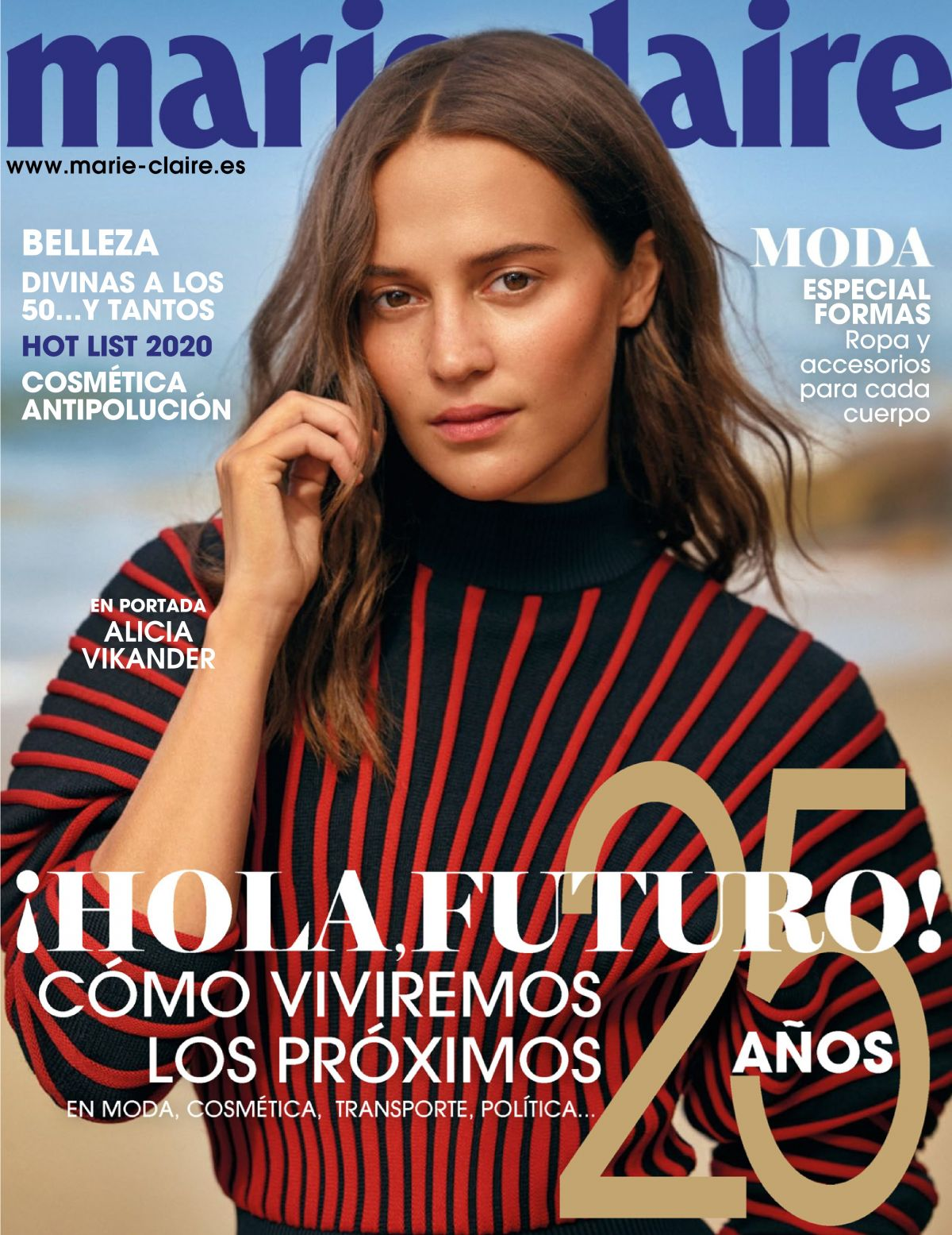 Alicia Vikander in Marie Claire Magazine, Spain - January 2020