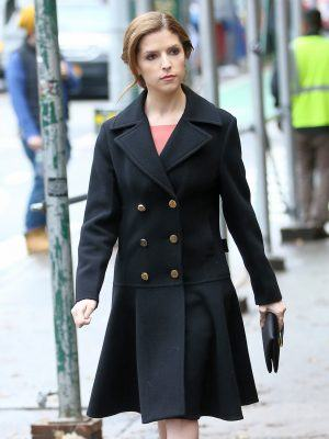 Anna Kendrick on the Set of Love Life in NY