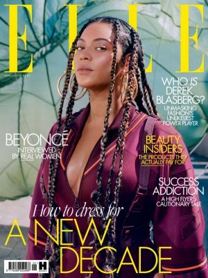Beyonce in Elle UK Magazine - January 2020