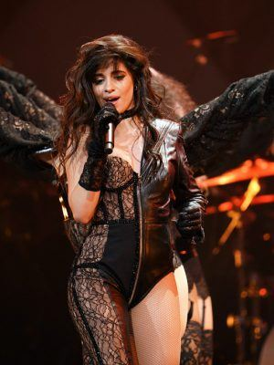 Camila Cabello Performing Live at 106.1 KISS FM's Jingle Ball 2019 in Dallas