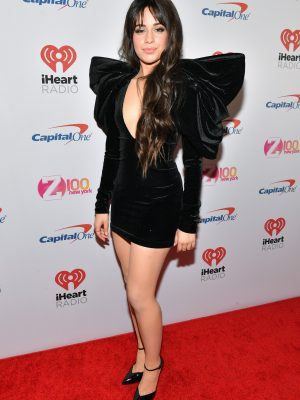 Camila Cabello at Z100's iHeartRadio Jingle Ball 2019 in NY
