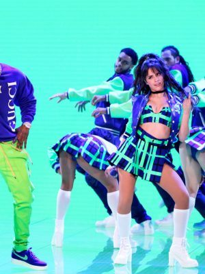 Camila Cabello Performing Onstage at The Tonight Show Starring Jimmy Fallon