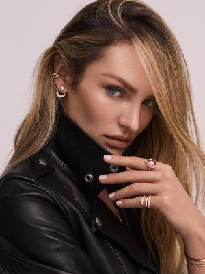 Candice Swanepoel Photoshoot for Logan Hollowell Jewelry 2019