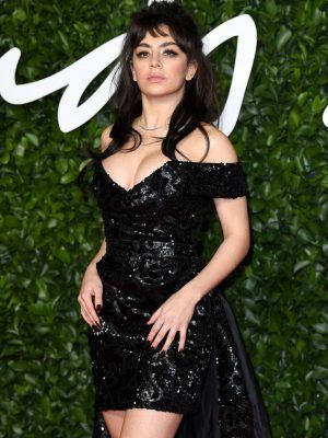 Charli XCX at The Fashion Awards 2019 at Royal Albert Hall in London