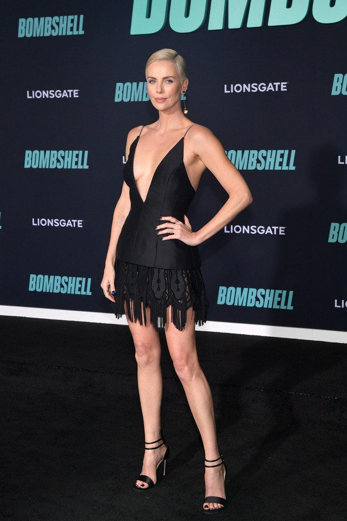 "Charlize Theron at Special Screening of Liongate's ""Bombshell"" in Westwood"