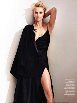 Charlize Theron in F Magazine - January 2020