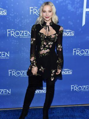 Dove Cameron at Frozen The Broadway Musical Premiere in Hollywood