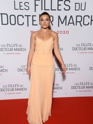 "Florence Pugh at the Premiere of ""Little Women"" in Paris"