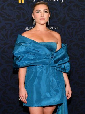 "Florence Pugh at the World Premiere of ""Little Women"" in NYC"