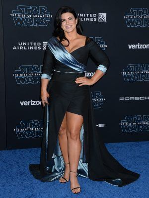 "Gina Carano at Premiere of Disney's ""Star Wars: The Rise Of Skywalker"" in Hollywood"