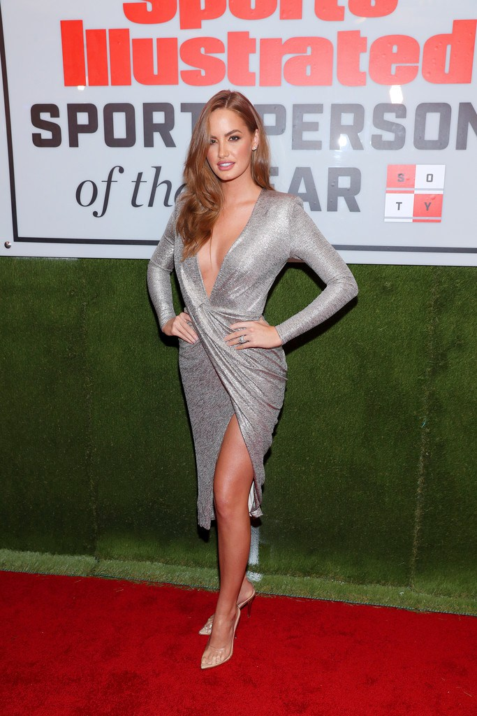 Haley Kalil at Sports Illustrated Sportsperson Of The Year 2019 in NYC