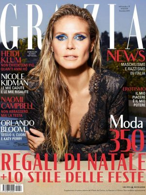 Heidi Klum in Grazia Magazine Italy - December 2019