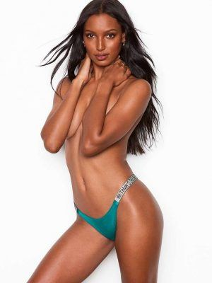 Jasmine Tookes in Victoria's Secret Lingerie Photoshoot 2019