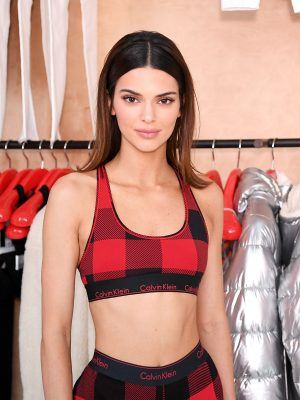 Kendall Jenner at Calvin Klein Pajama Party in NYC