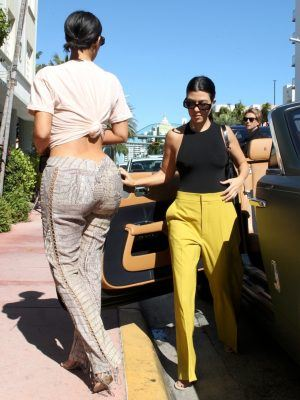 Kim Kardashian Booty, Out in Miami