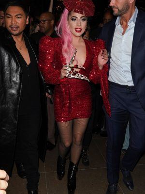 Lady Gaga at Haus Labs Makeup Pop Up Launch, The Grove, LA
