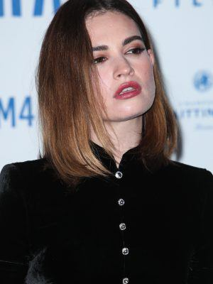 Lily James at British Independent Film Awards 2019 in London