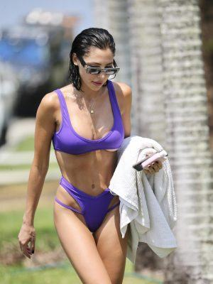 London Shay Goheen in Bikini on The Gold Coast