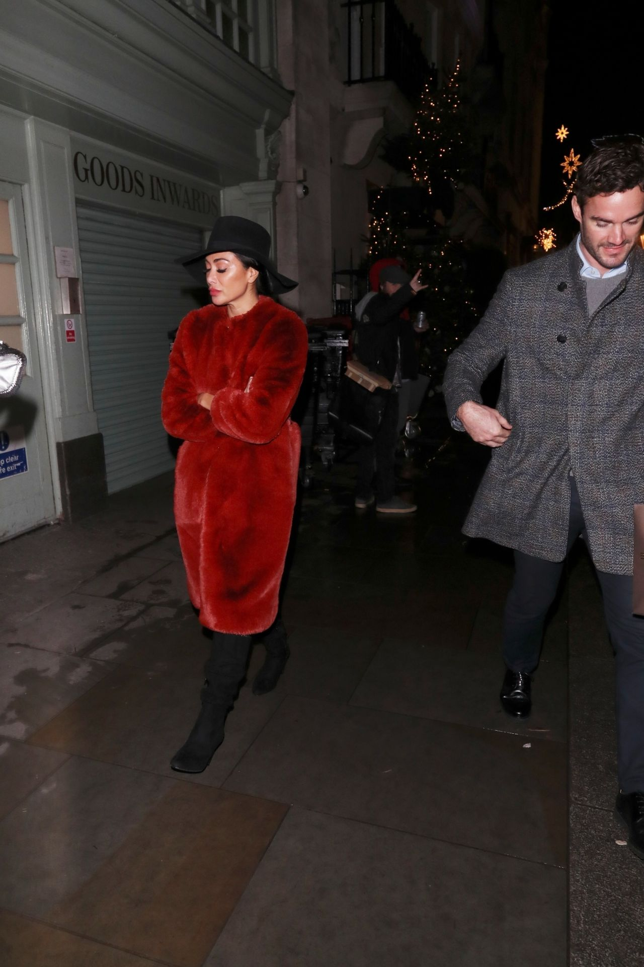 Nicole Scherzinger Leaving the Tramp Nightclub in London