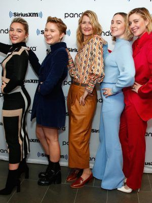 Saoirse Ronan, Florence Pugh at SiriusXM's Town Hall With 'Little Women' in NYC