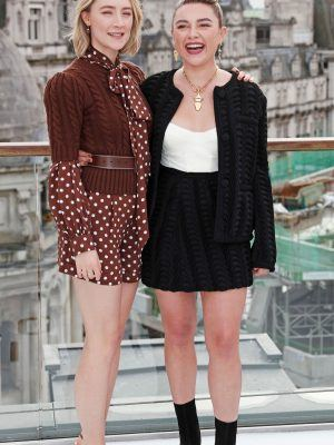 Saoirse Ronan at the Photocall of 'Little Women' in London
