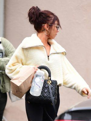 Sarah Hyland Out and About in Los Angeles