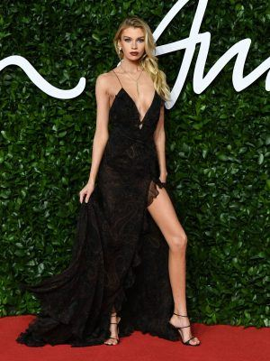 Stella Maxwell Leggy at The Fashion Awards 2019 at Royal Albert Hall in London