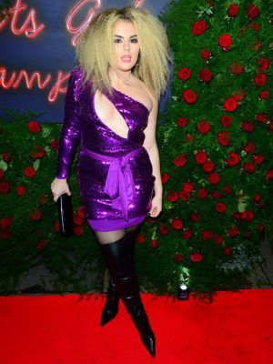 Tallia Storm Areola at Tramp's Club 50th Anniversary Party, London