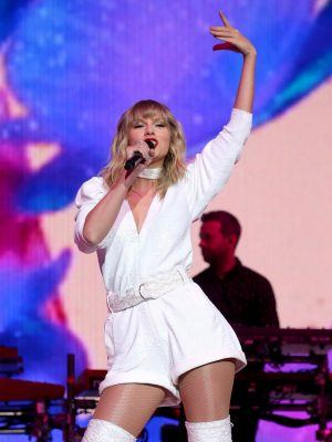 Taylor Swift at Capital's Jingle Bell Ball 2019 in London
