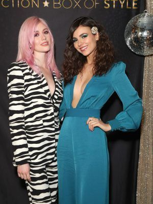 Victoria Justice at Rachel Zoe Collection Box Style Holiday Event with Tanqueray in LA