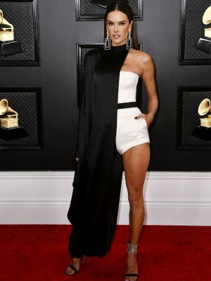 Alessandra Ambrosio at 62nd Annual Grammy Awards in Los Angeles