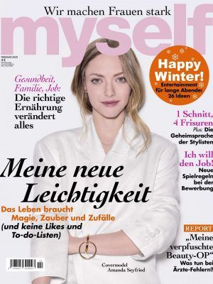 Amanda Seyfried in Myself Magazine Germany - January 2020