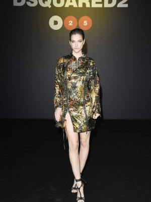 Barbara Palvin at Dsquared2 Fashion Show in Milan