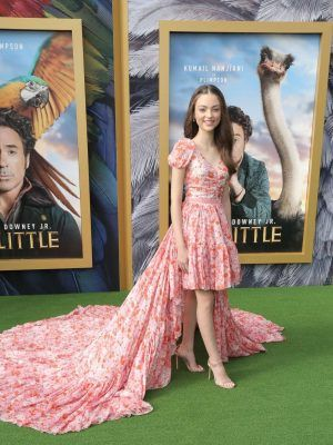 Carmel laniado at the Premiere of 'Dolittle' in Westwood