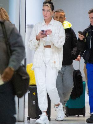 Dua Lipa at JFK Airport in New York