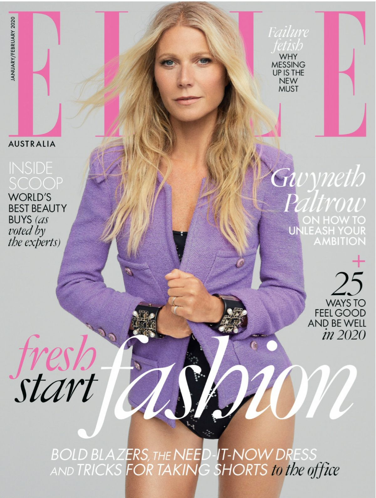 Gwyneth Paltrow in Elle Magazine Australia - January / February 2020