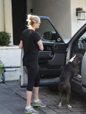Kate Upton Leave Bruno's Gym in Beverly Hills