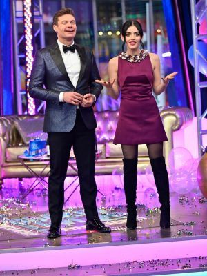 """Lucy Hale Hosting ABC's """"Dick Clark's New Year's Rockin' Eve in NYC"""