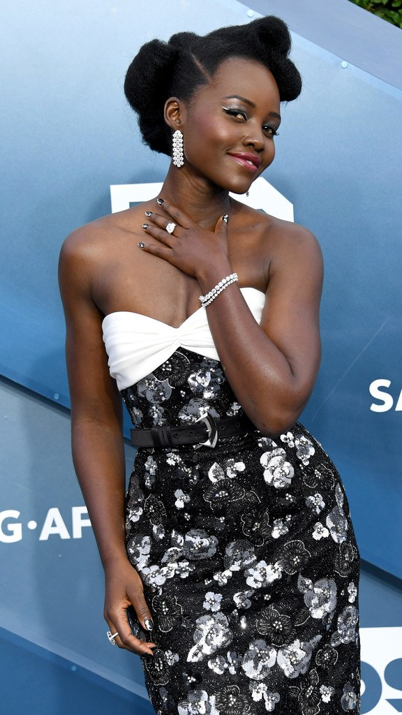 Lupita Nyong'o at 26th Annual Screen Actors Guild Awards in Los Angeles