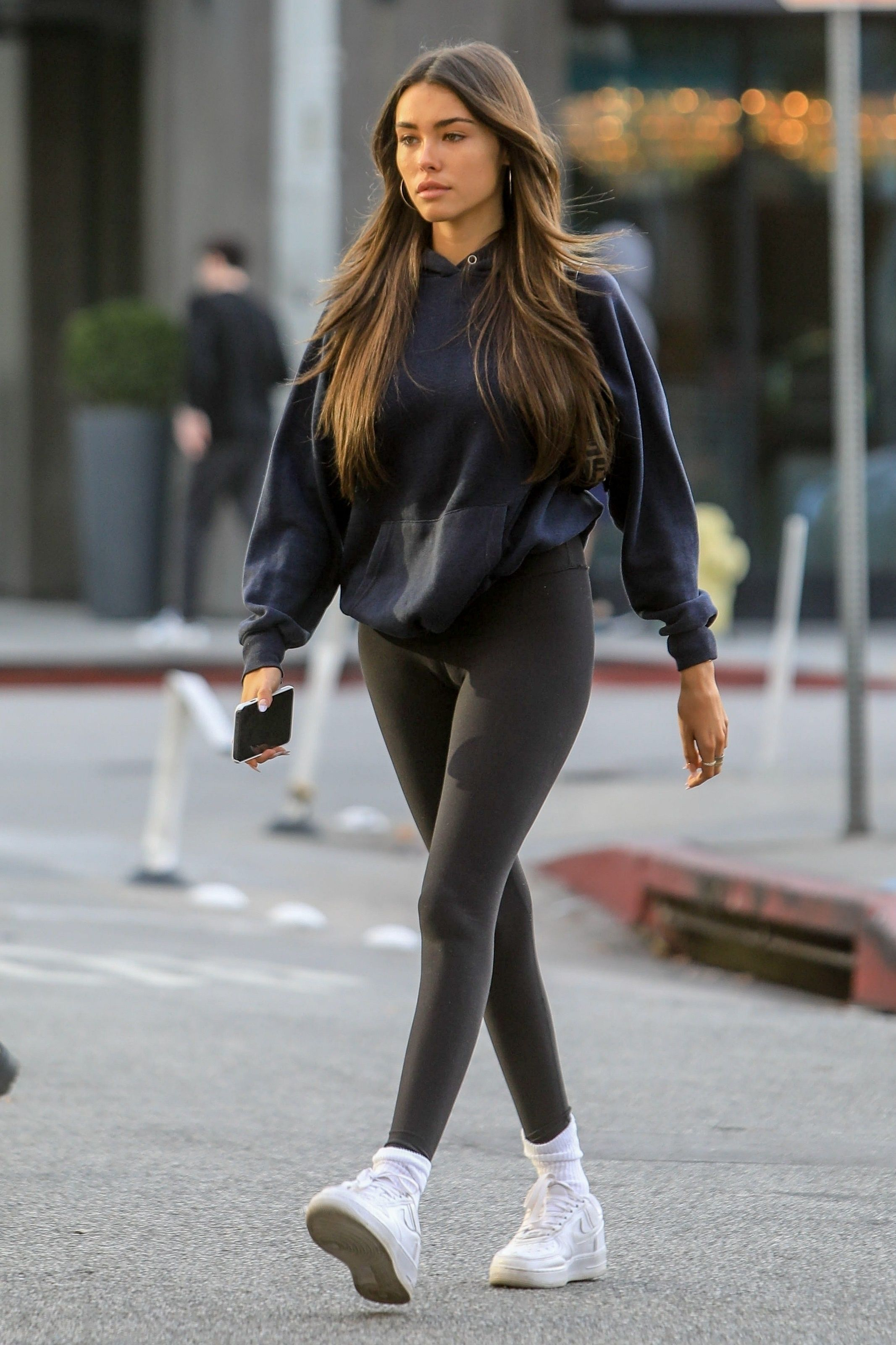 Madison Beer Cameltoe, Out for Lunch in West Hollywood