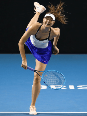 Maria Sharapova at 2020 Brisbane International Day 2 in Queensland, Australia