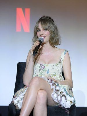 "Maya Hawke at Netflix's ""Stranger Things"" Q&A and Reception in West Hollywood"