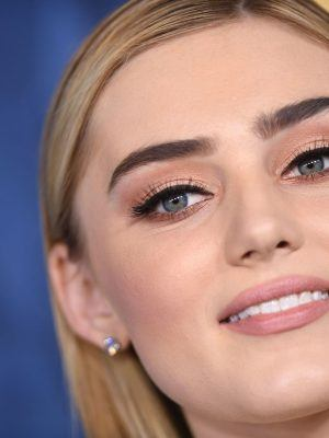 Meg Donnelly at ABC Television's Winter Press Tour 2020 in Pasadena