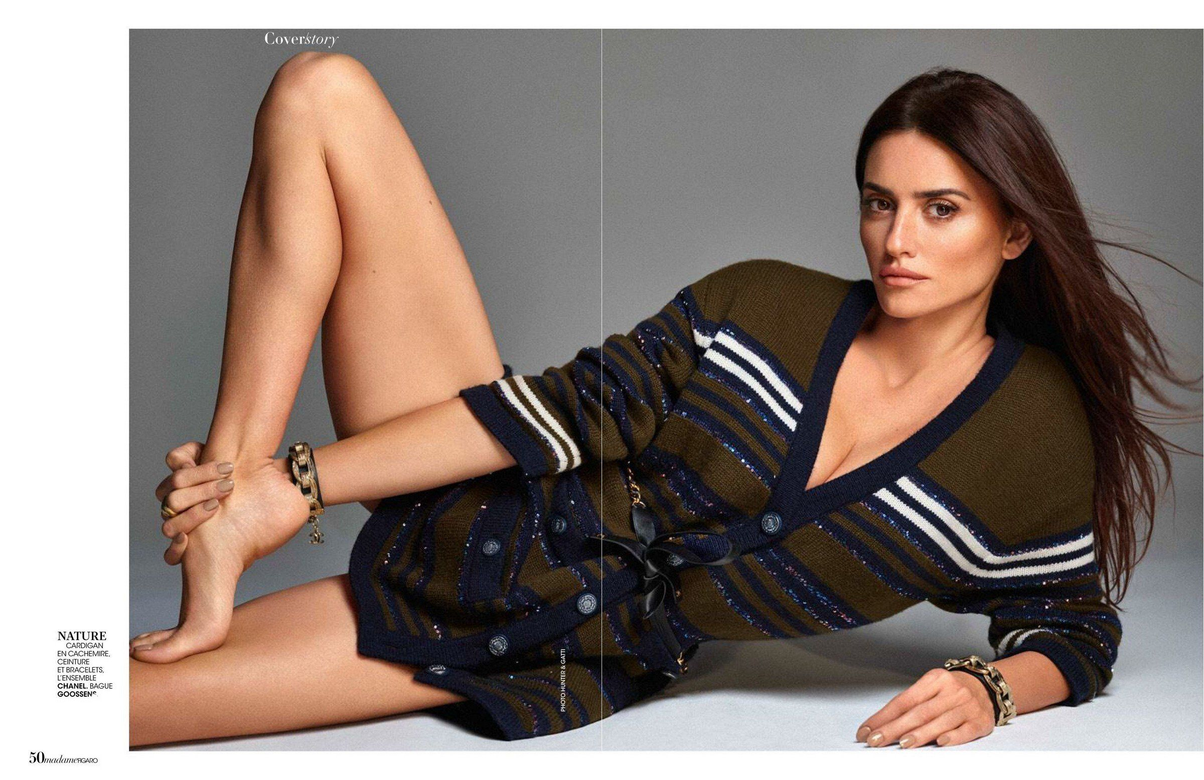 Penelope Cruz in Madame Figaro Magazine - January 2020