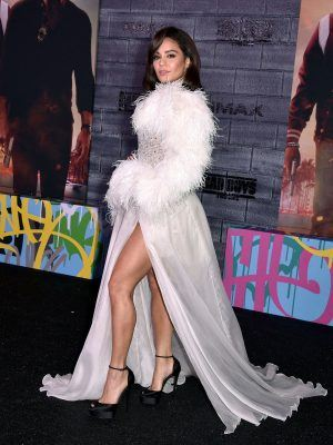 """Vanessa Hudgens Sexy Leggy at the Premiere of """"Bad Boys For Life"""" in Hollywood"""