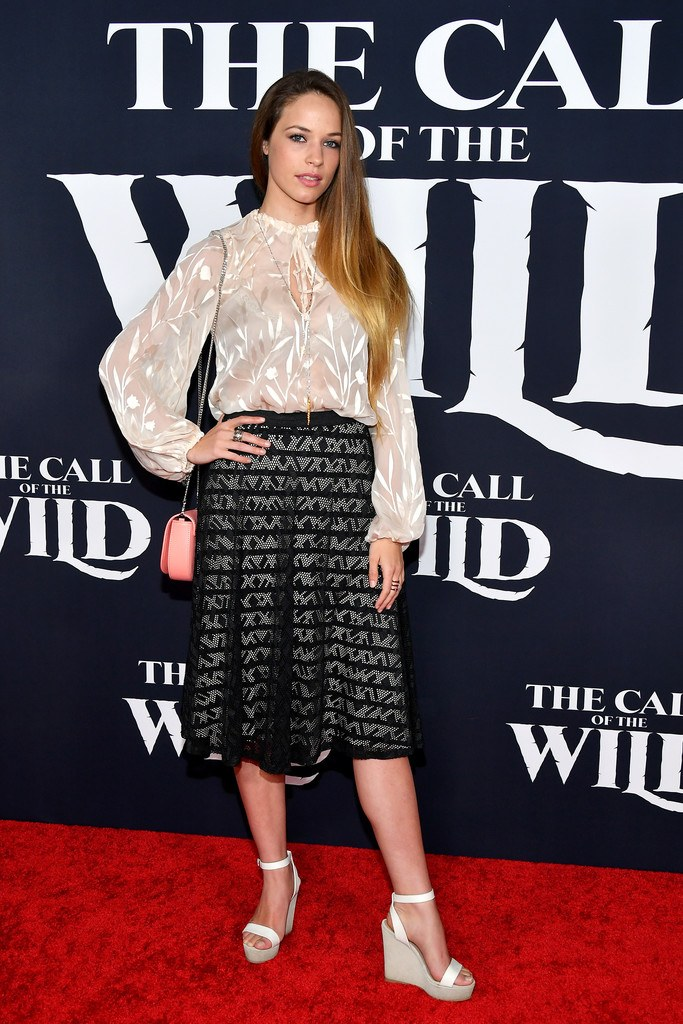 "Alexis Knapp at the Premiere of ""The Call Of The Wild"" in Los Angeles"