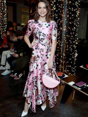 Bailee Madison at Veronica Beard Show at New York Fashion Week