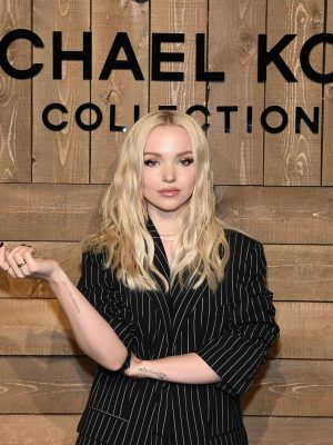Dove Cameron at Michael Kors Fashion Show in NY