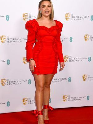 Florence Pugh at EE British Academy Film Awards 2020 Nominees' Party in London