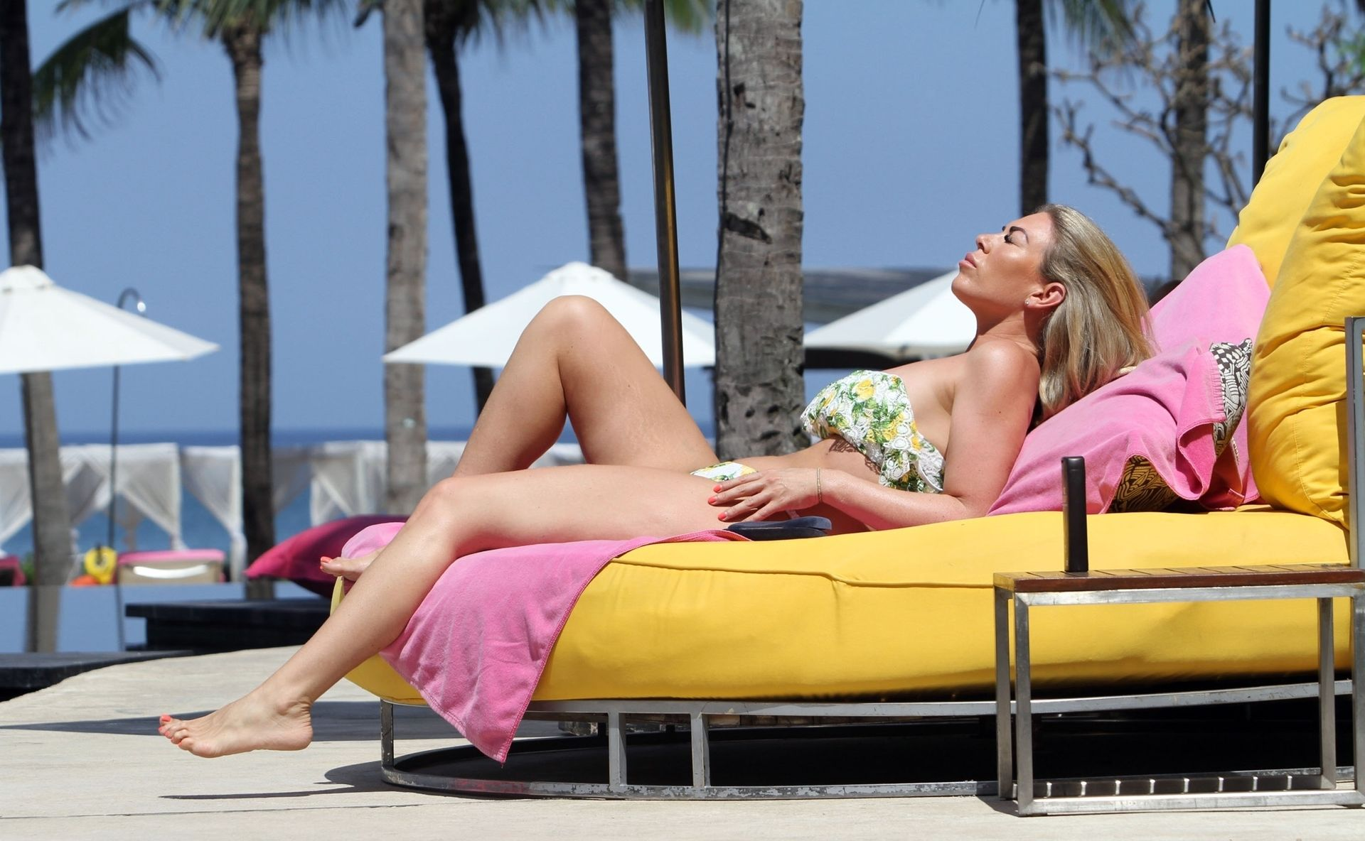 Frankie Essex in Bikini on Holiday in Lanzarote